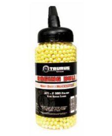 2000 Billes Airsoft 0.12 g jaunes Taurus