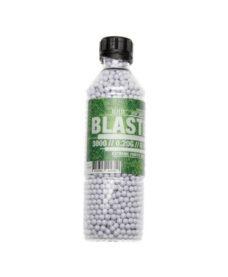 3000 Billes Airsoft 0.20 g blanches Blaster