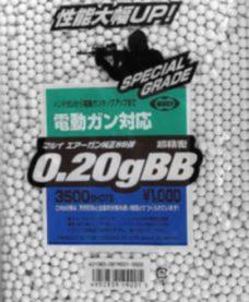 3500 Billes Airsoft Blanches 0.20 g Tokyo Marui