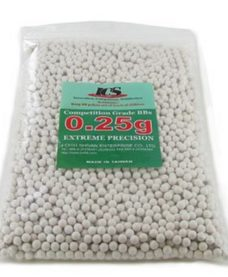 4000 Billes Airsoft Blanches 0.25 g ICS