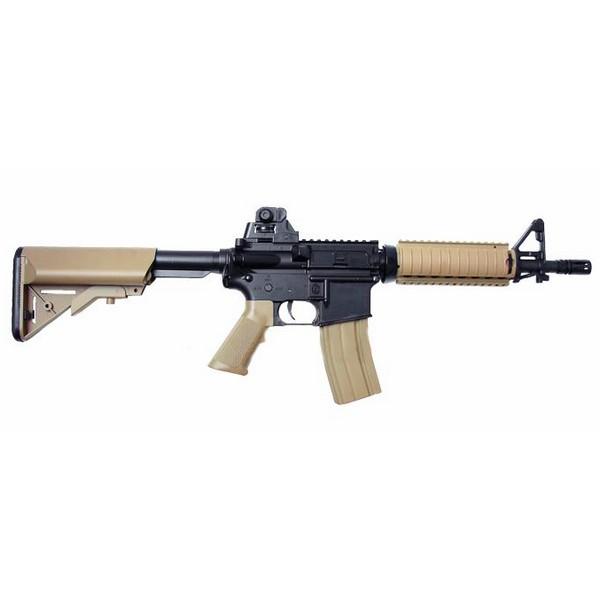 Réplique Colt M4 CQB Noir et Tan AEG