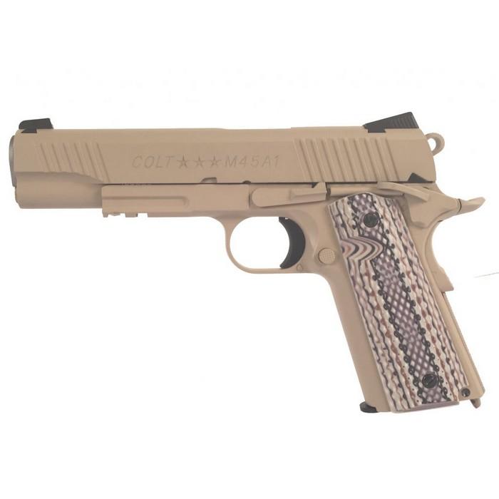 Colt 1911 M45A1 culasse metal CO2 GBB KWC