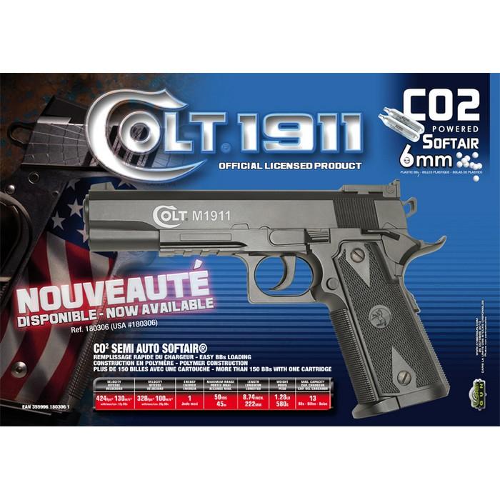 Colt 1911 Match CO2