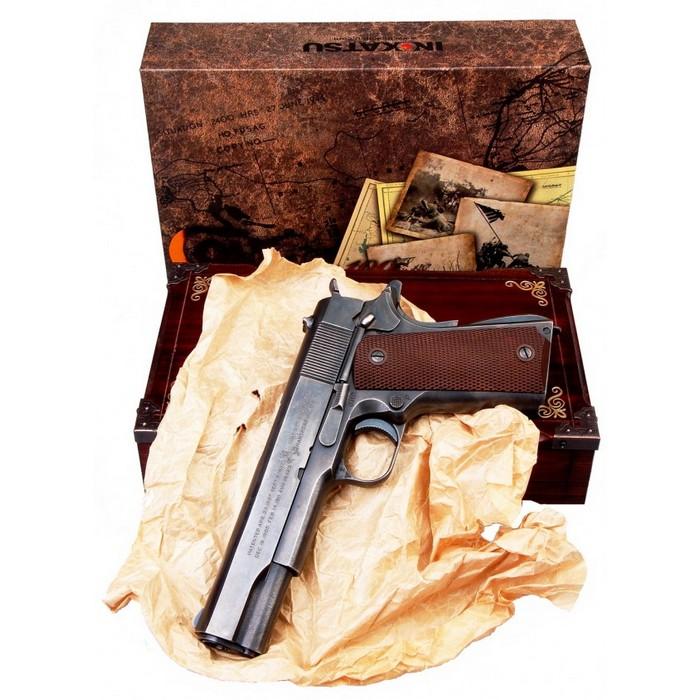 Colt M1911 full acier CO2 GBB sans chargeur
