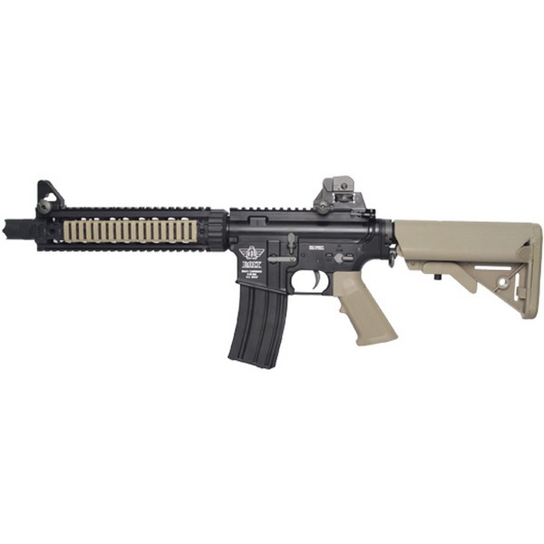 Réplique M4 BOLT FS Recoil Shock tan blowback AEG