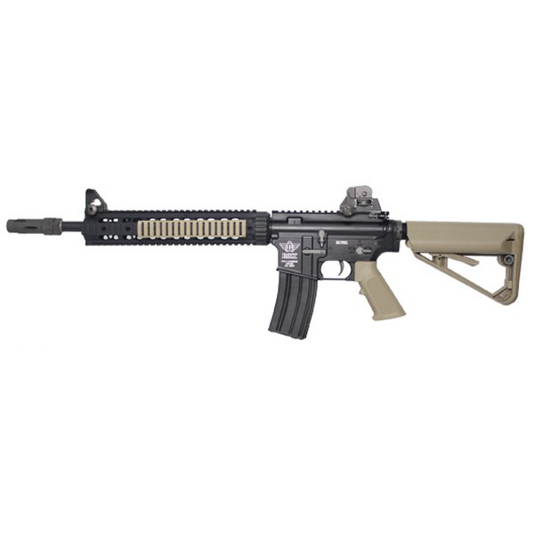 Réplique M4 BOLT LRP Recoil Shock tan blowback AEG