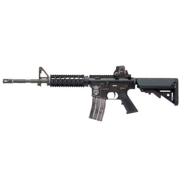 Réplique M4 BOLT RIS SOPMOD Recoil Shock noir blowback AEG