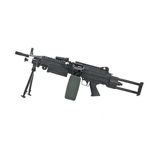 Mitrailleuse FN M249 PARA noir metal AEG A&K