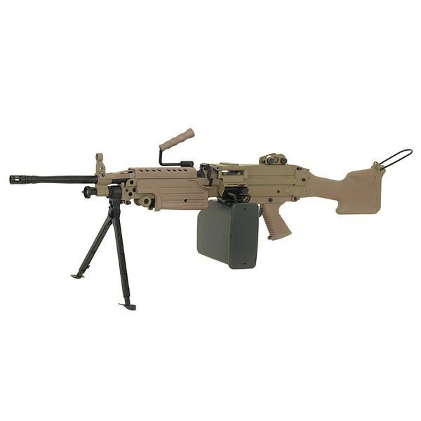 Mitrailleuse M249 Mark II metal AEG A&K
