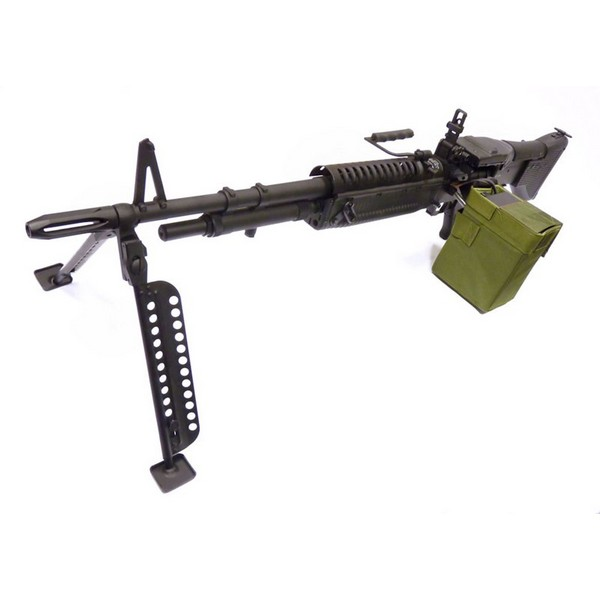 Mitrailleuse M60 VN Vietnam Rambo AEG A&K