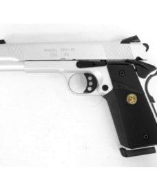 Pistolet Army 1911 MEU R27 Full metal GBB Silver