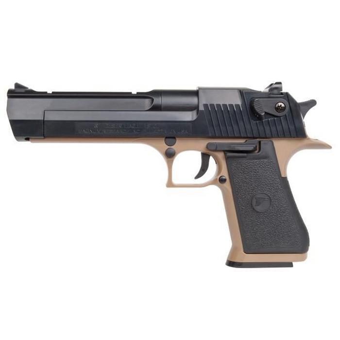 Pistolet Desert Eagle 50AE Noir-Tan Spring