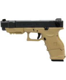 Pistolet G26C Adv Gen 3 III GBB Tan WE