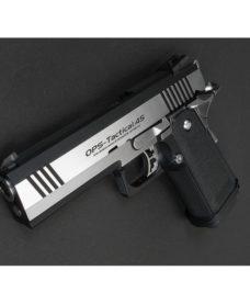 Pistolet Hi Capa 4.3 Custom Dual Stainless GBB Tokyo Marui