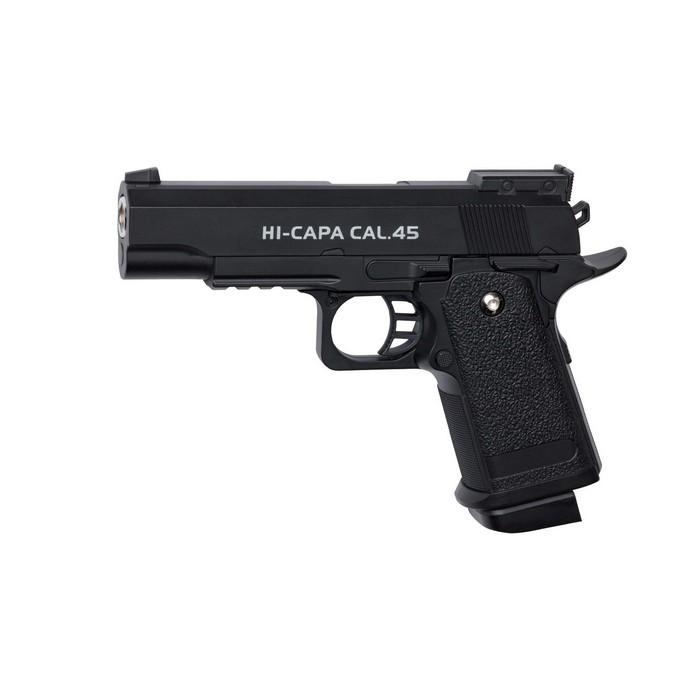 Pistolet Hi Capa cal 0.45 Noir Spring