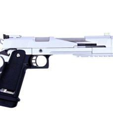 "Pistolet Hi Capa Type A Metal 7"" Chrome GBB"