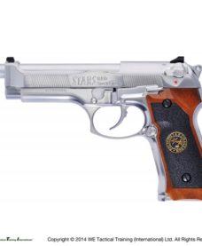Pistolet M92 Samourai Edge metal Chrome GBB