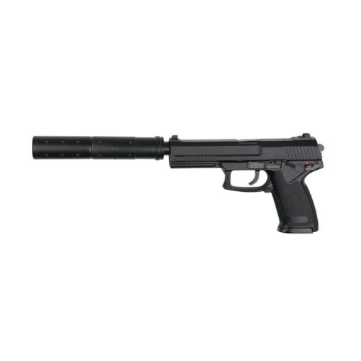 Pistolet MK23 Special OPS KJW GBB avec Silencieux