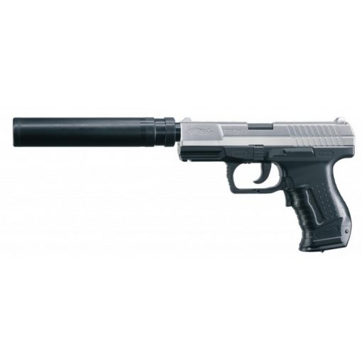 Pistolet P99 AEP Walther avec Silencieux