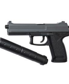 Pistolet Socom DL60 avec silencieux Spring ASG