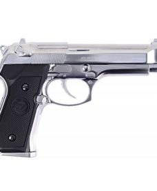 Pistolet WE M9 S Full Metal Chrome GBB