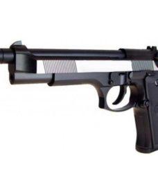 Pistolet WE M92F Dual Tone Noir GBB