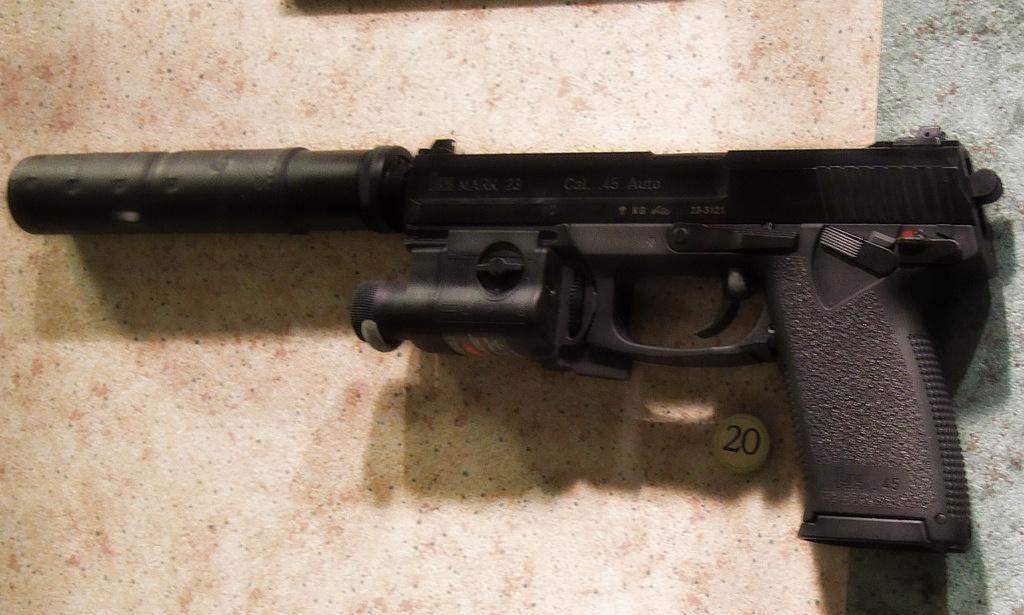 MK23 Airsoft : répliques pistolets MK23 Airsoft | Blowback fr
