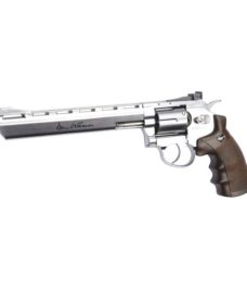 "réplique Révolver Dan Wesson Chrome canon 8"" CO2"