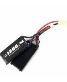 Batterie A2A LiPo 7.4V 1200 mAh 30C Swiss Arms