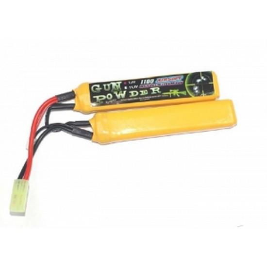 Batterie double mini Stick A2PRO LiPo 7.4V 1100 mAh