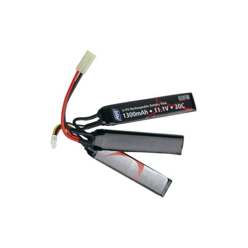 Batterie LiPo 11.1V 1300 mAh sticks 3 cellules