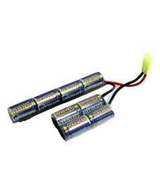 Batterie NimH SIG 556 Shorty 9.6V 1600 mAh Intellect
