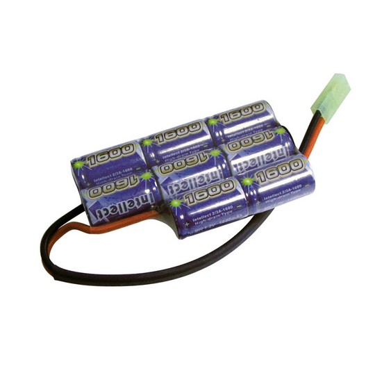 Batterie NimH type boitier PEQ 9.6V 1600 mAh Intellect