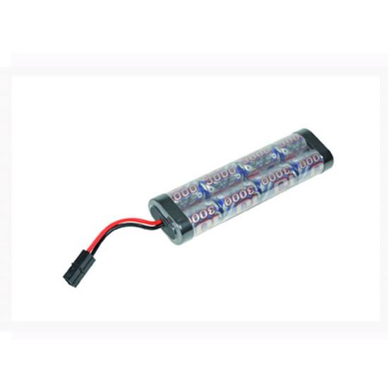 Batterie NimH type large 9.6V 3000 mAh Intellect