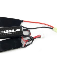 Batterie triple A2A LiPo 11.1V 1200 mAh 25C Swiss Arms