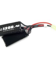 Batterie twin A2A LiPo 7.4V 1200 mAh 25C Swiss Arms