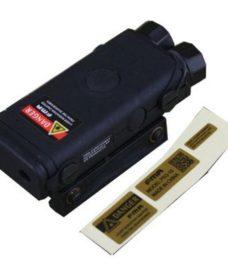 Boitier PEQ 10 Noir pro LED et laser rouge Emerson
