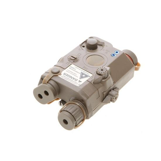 Boitier PEQ 15 Tan laser Rouge Emerson