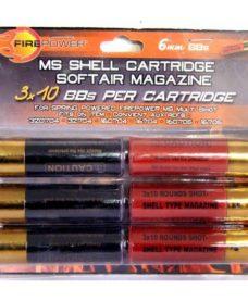 Cartouches fusil Pompe 6 pieces