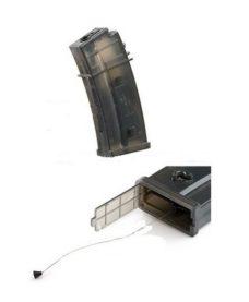 Chargeur Hi-Cap Flash G36 AEG 470 billes BlackBear