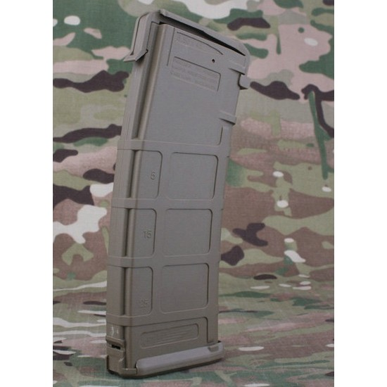 Chargeur M4 FLASH AEG Type PMAG 300 Tan;Chargeur M4 FLASH AEG Type PMAG 300 Tan