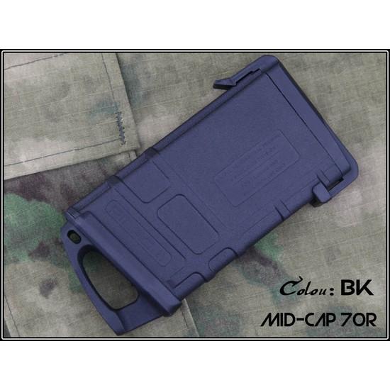 Chargeur Mid-Cap M4 AEG Type PMAG 70 billes Noir