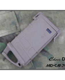 Chargeur Mid-Cap M4 AEG Type PMAG 70 Billes Tan