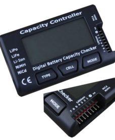 Testeur LCD batteries NiMH-Lipo-LiFe-NiCd-Li-Ion