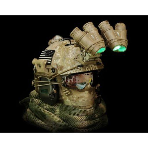 Casque vision nocturne airsoft dummy L3 GPNVG-18
