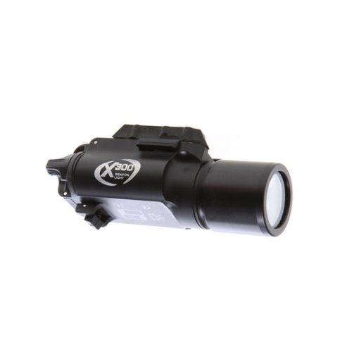 Lampe tactique LED aluminium X300 170 lumen