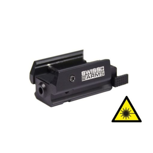 Micro laser pour rail picattiny de Swiss Arms