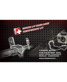 Montage Camera GoPro pour rail Airsoft