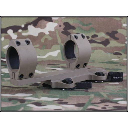 Montage lunette QD Type Larue SPR / M4 Alu Tan
