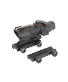 Point Rouge vert type ACOG TA31 pour Airsoft